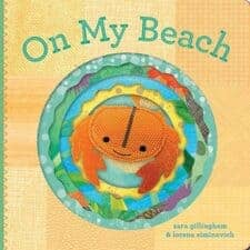 On My Beach Board Book