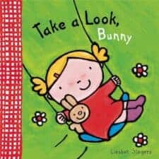 Take a Look Bunny board book