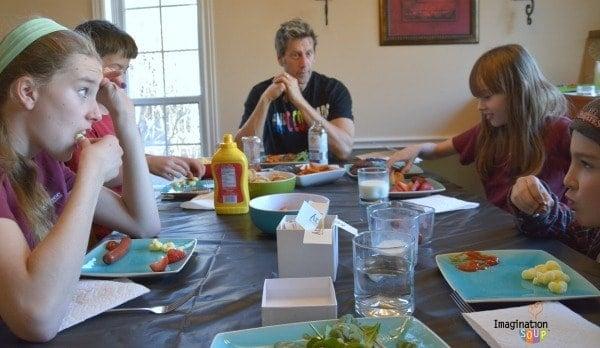 dinner conversations starters
