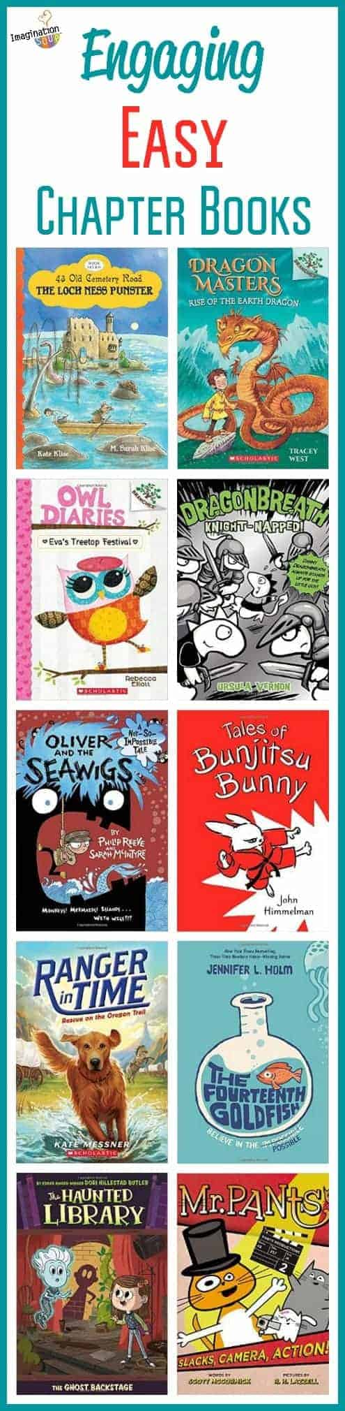 engaging easy chapter books