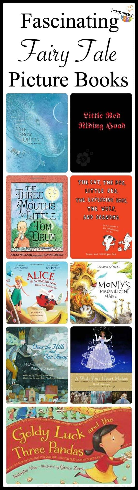 fascinating fairy tale picture books