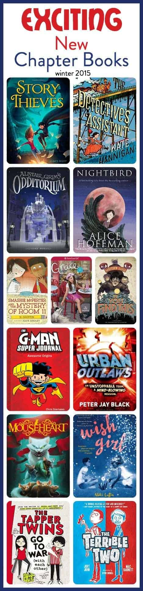 new chapter books for kids