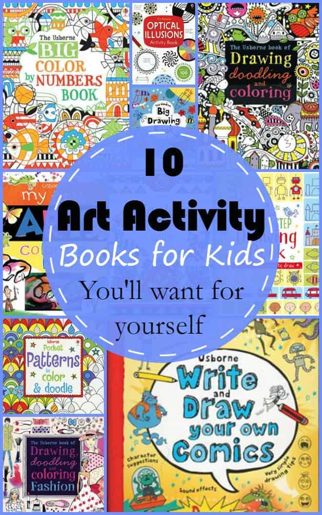10 art activity books for kids - Activity Books For 4 Year Olds