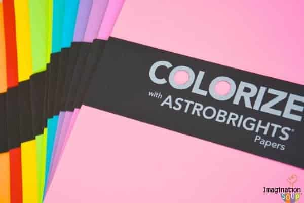 Astrobrights Papers are perfect for color learning!