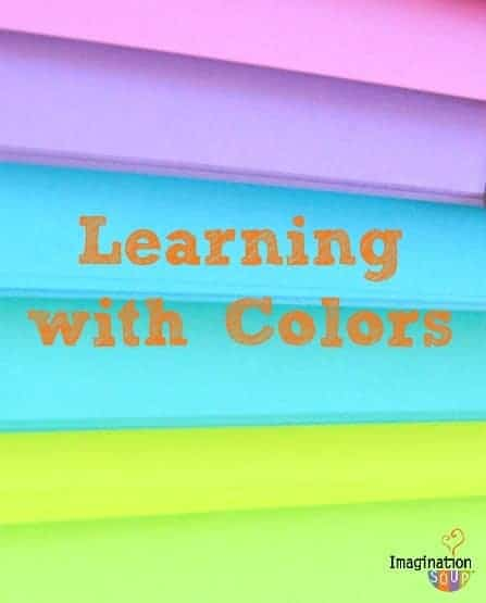 Learning with Colors: the research and activities for kids