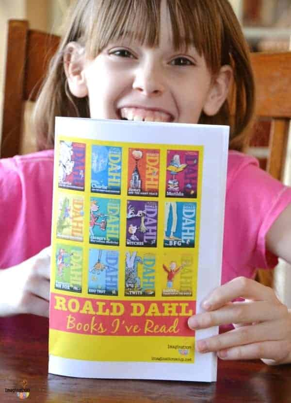 Roald Dahl Books I've Read booklet