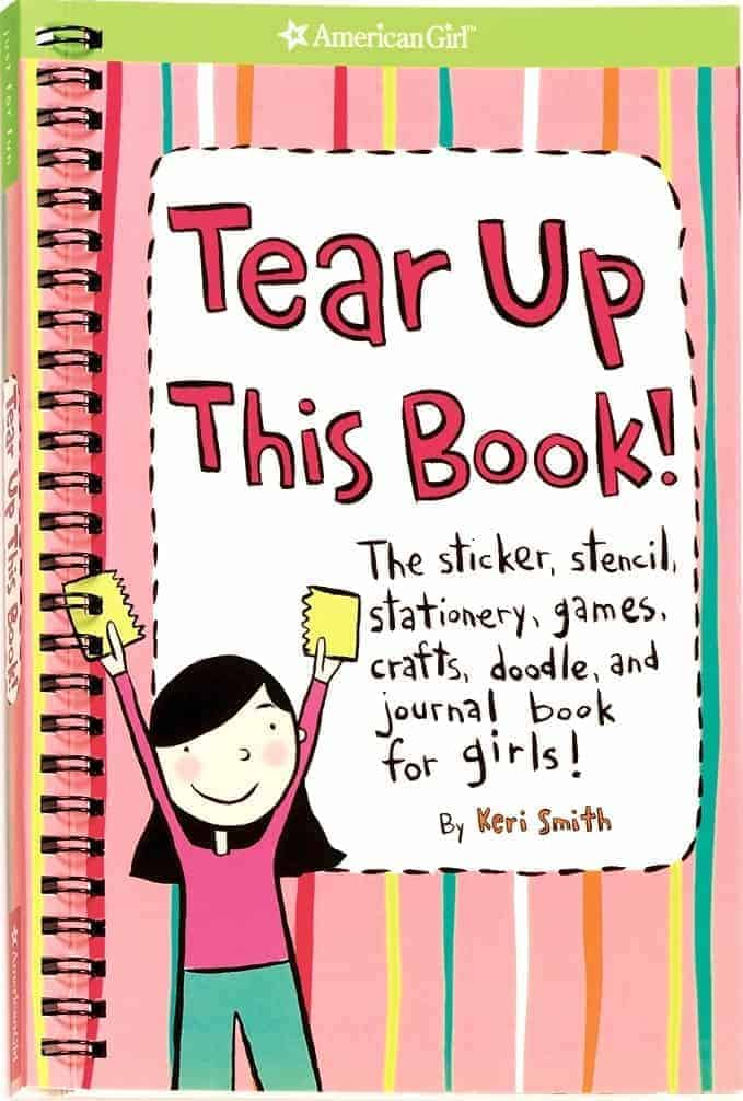 Gifts For 8 Year Old Girls Tear Up This Book