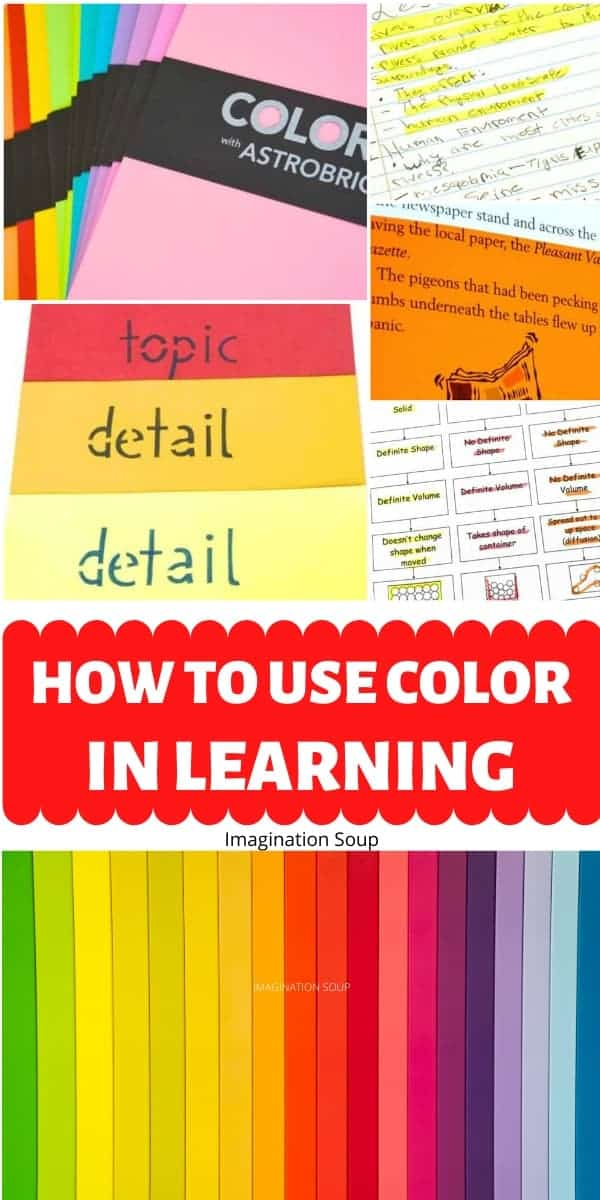 how to use color in learning and teaching