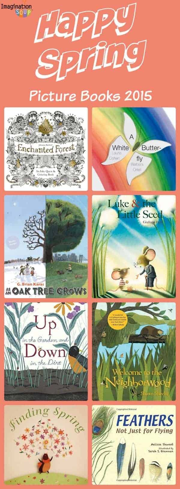 new picture books for spring