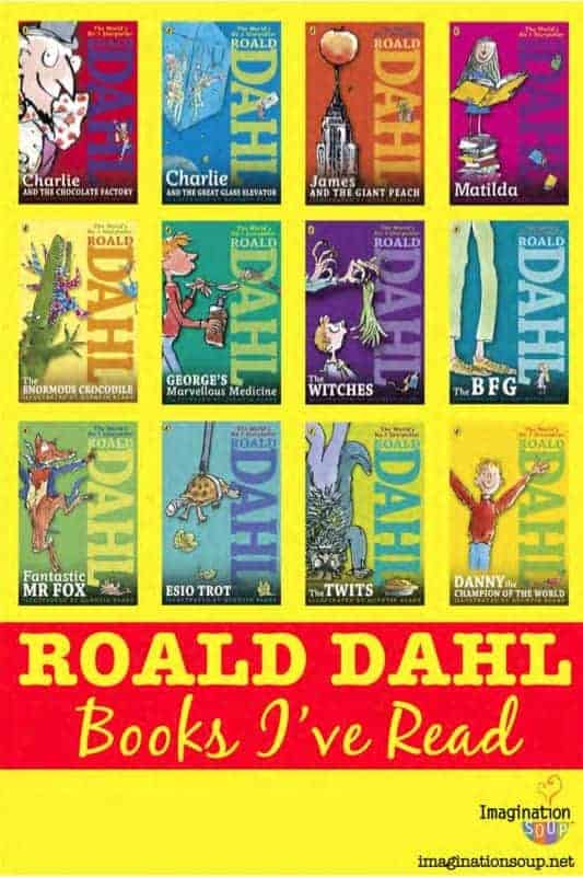 Roald Dahl Book Cover Pictures : What roald dahl books have you read imagination soup