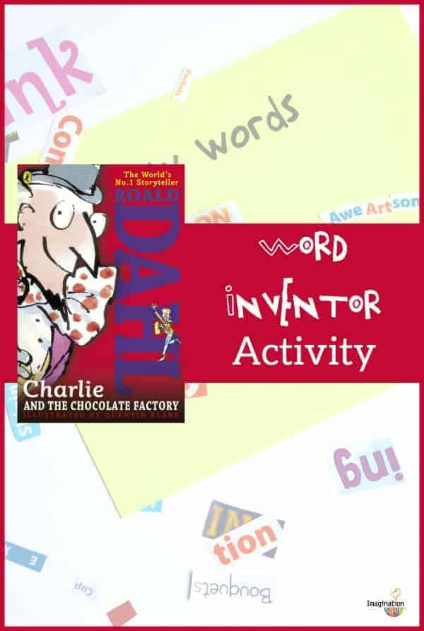 Charlie and the Chocolate Factory Word Inventing Activity