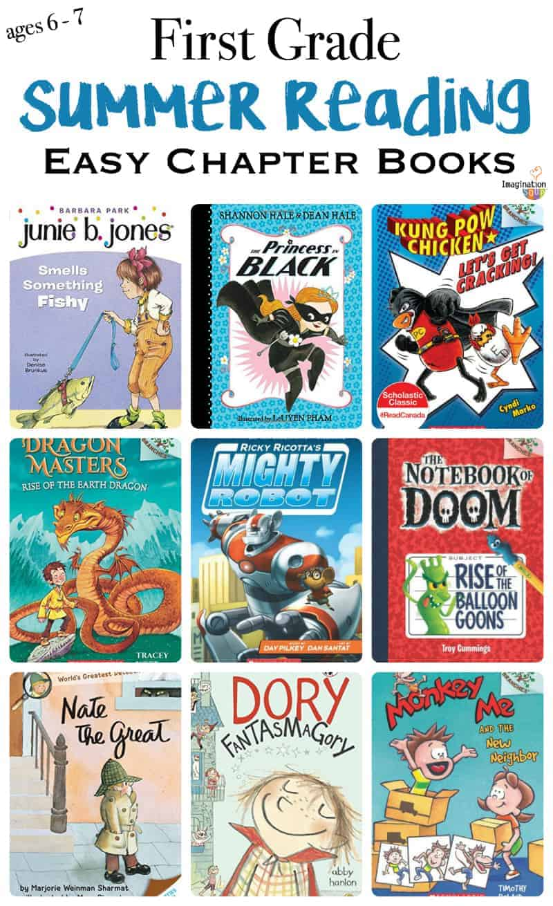 1st Grade Summer Reading List Ages 6 And 7 Easy Chapter Books Test