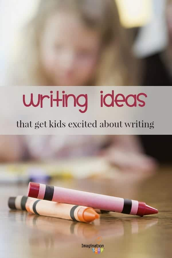 20 ideas to get kids totally engaged and interested in writing over summer vacation