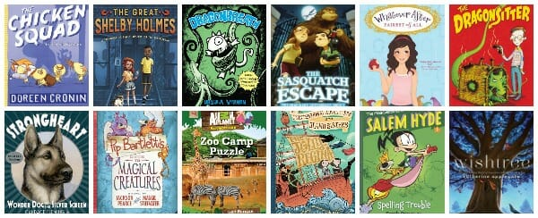 3rd grade summer reading book list with printable
