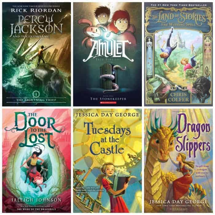 4th grade fantasy summer book list