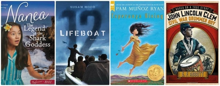 4th grade summer reading book list