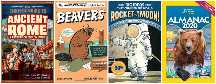4th grade nonfiction books