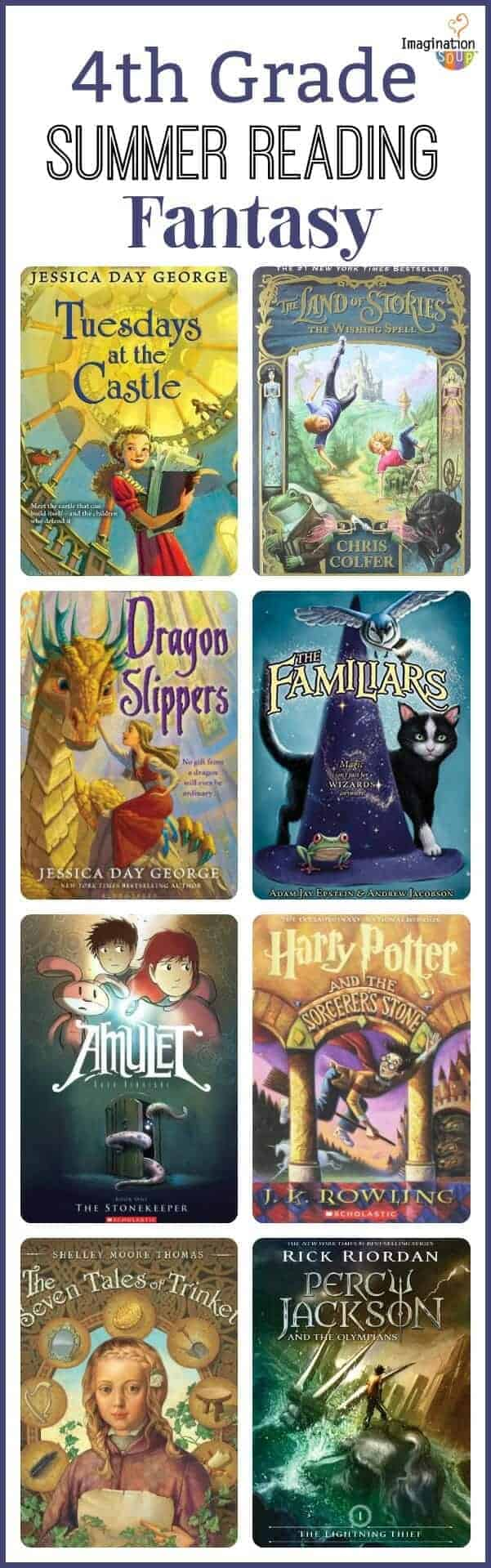 4th grade summer reading list for kids ages 9 - 10