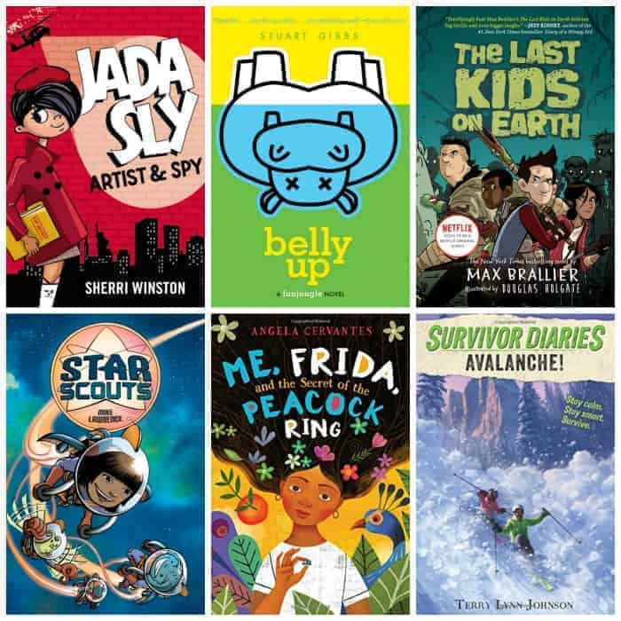 4th grade summer reading list adventure & mystery