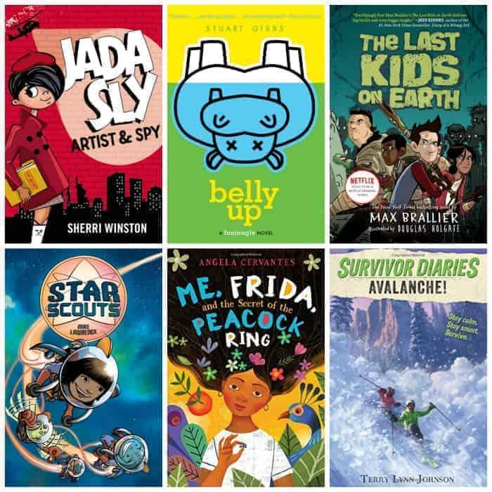 4th grade summer reading list adventure & mystery