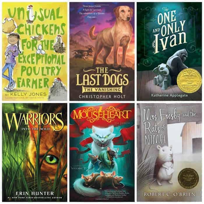 5th grade animal books for summer reading