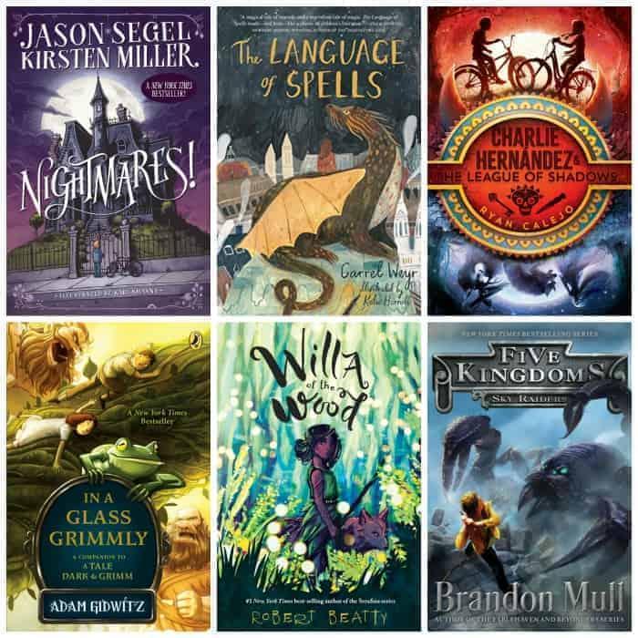 5th grade fantasy summer reading book list