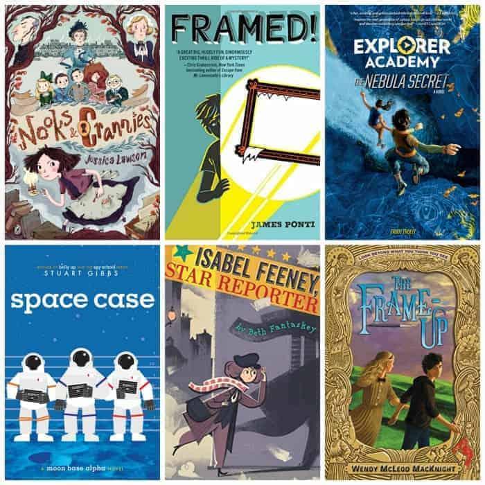 5th grade mystery book list summer reading
