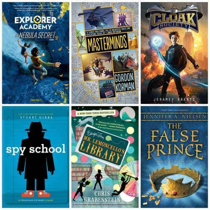 5th grade summer adventure book list
