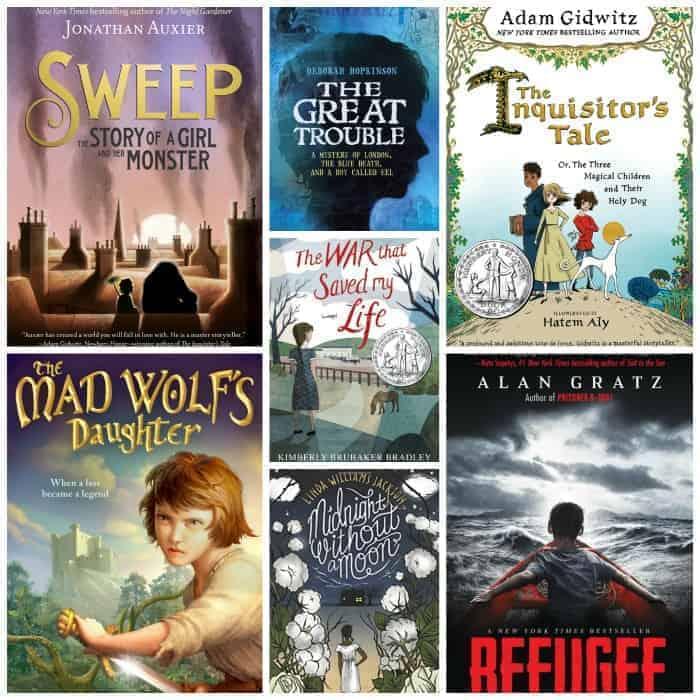 6th Grade Summer Reading List:HISTORICAL