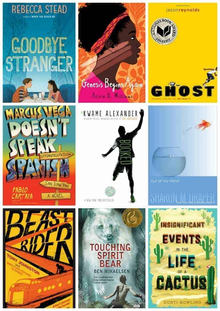 6th Grade Summer Reading List:REALISTIC