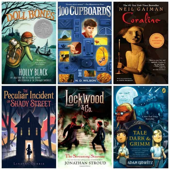 6th Grade Summer Reading List:SCARY