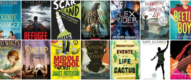 6th grade summer booklist