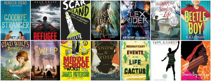 6th grade summer booklist