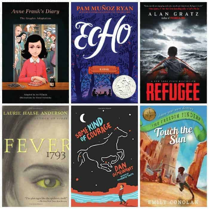 7th Grade Summer Reading Historical Fiction Books