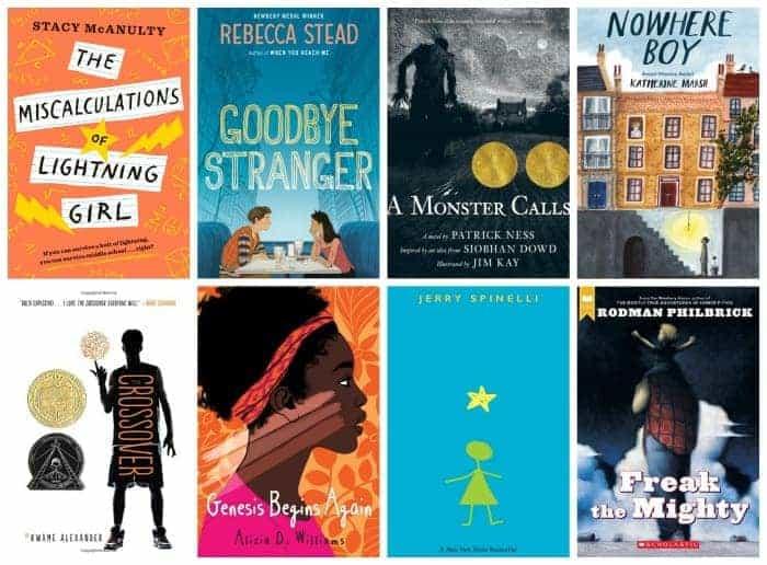 7th grade summer booklist
