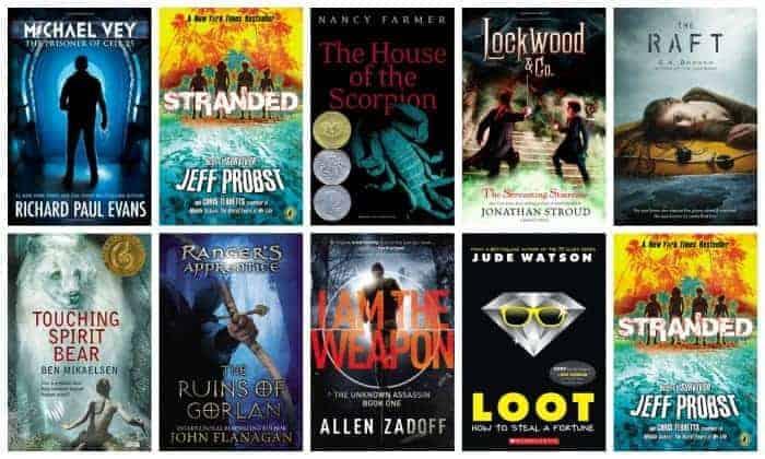 7th grade summer reading booklist
