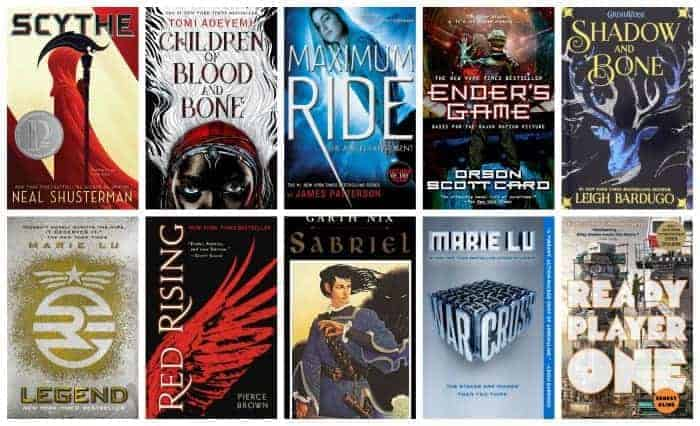 summer reading list for kids 13 and up