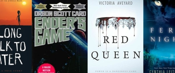 8th Grade Summer Reading List (ages 13+)