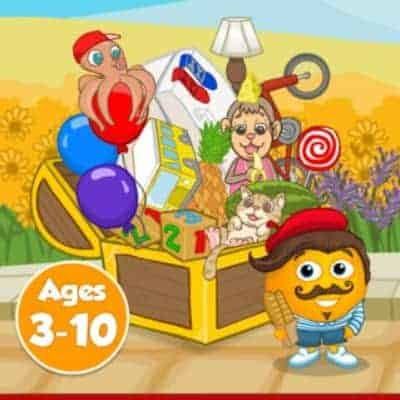 Fun French educational app