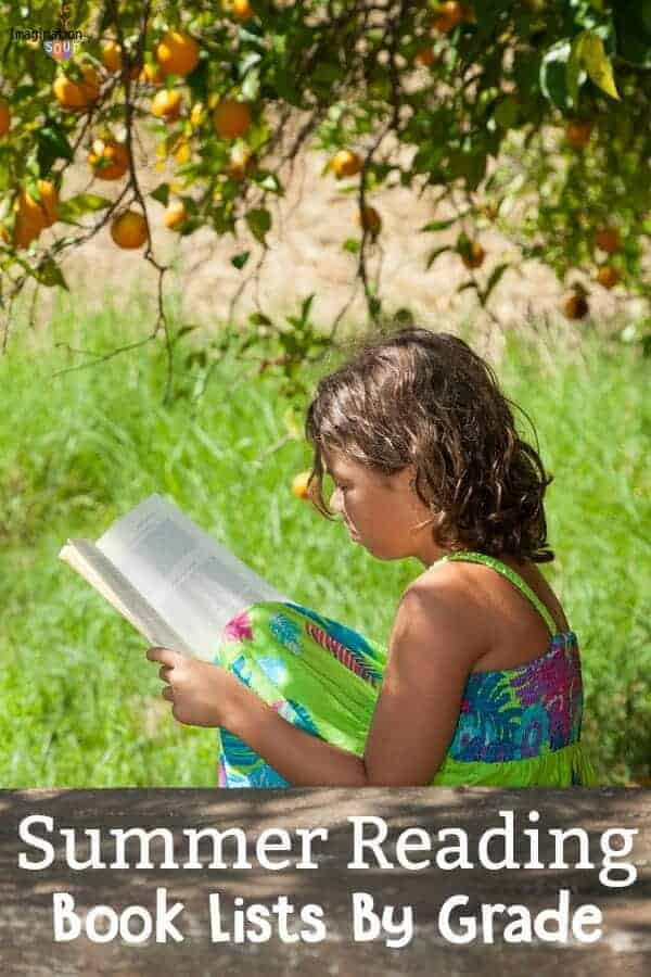 summer reading book lists for grades 1 to 8