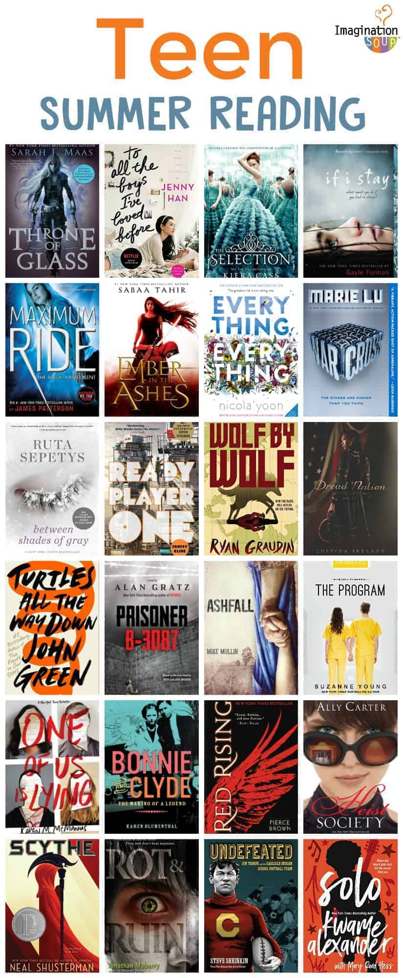 Teen Summer Reading List (Ages 13+)