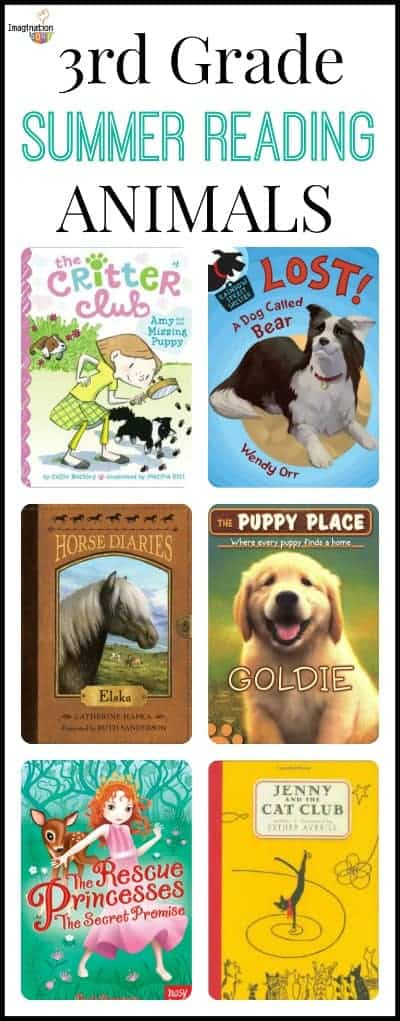 books about animals for 3rd graders