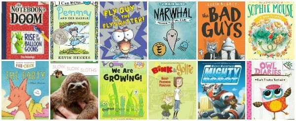 1st Grade Summer Reading List of Books
