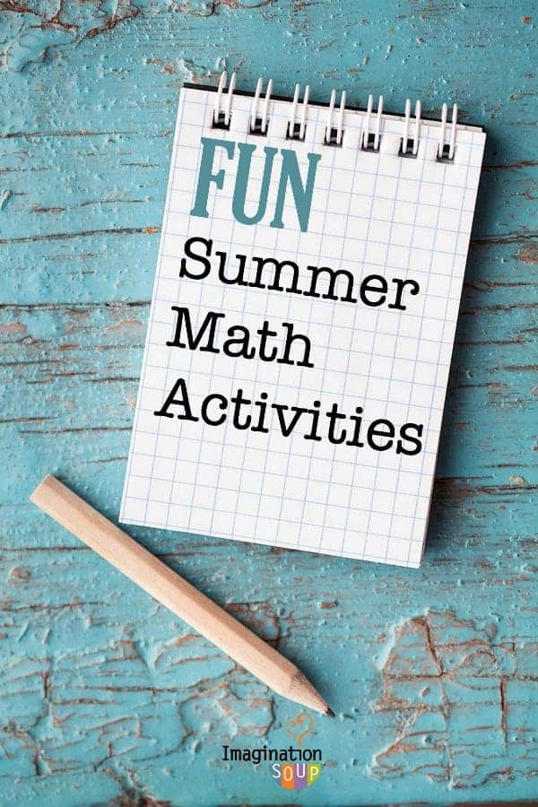 Summer Math Activities for Kids | Imagination Soup