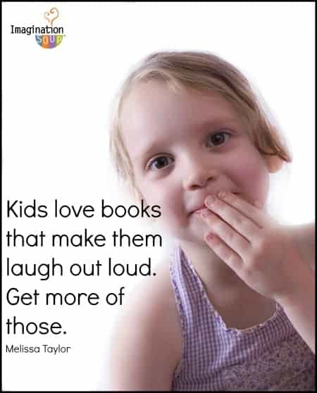 funny books are so good for reading with kids - don't forget to read dramatically