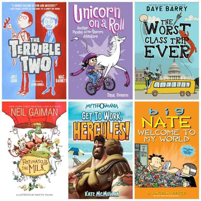 funny books for 4th grade summer reading
