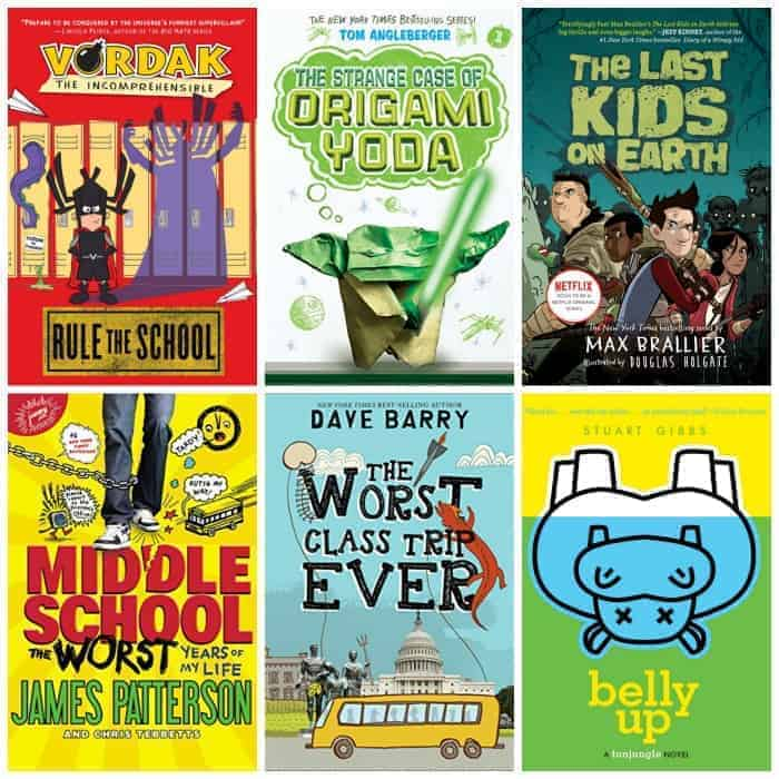 funny books for 5th grade summer reading