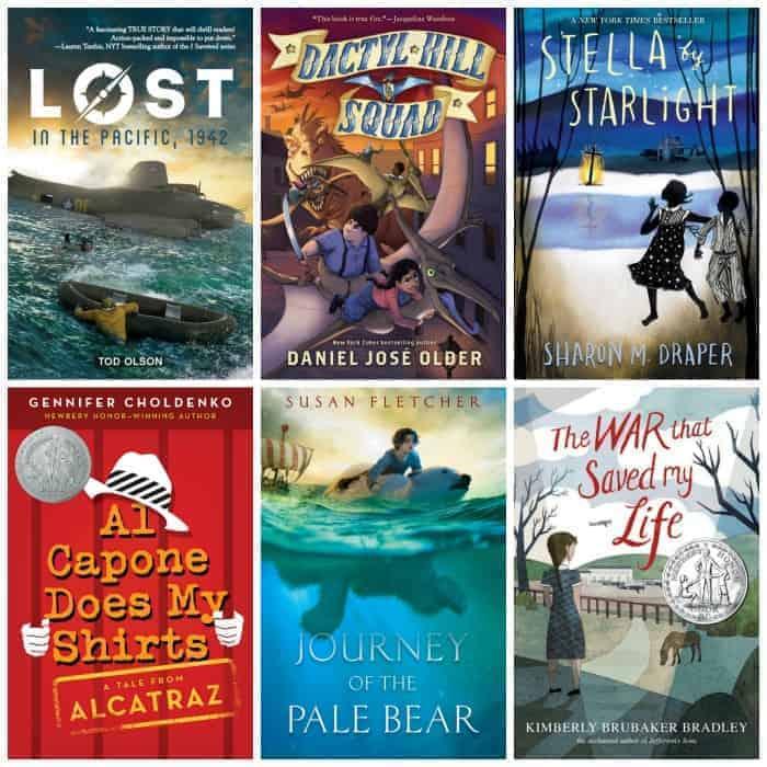 historical fiction summer books 5th grade