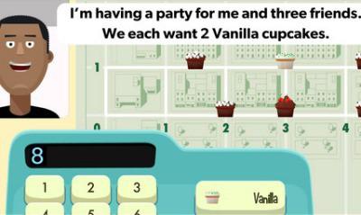 motion math cupcake educational app
