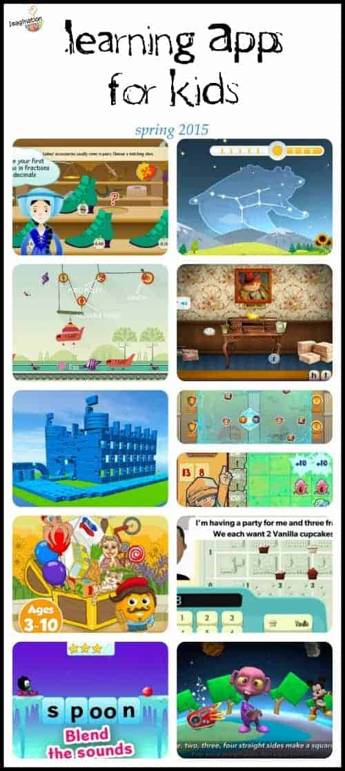 some of these look fun! -- new learning apps for kids spring 2015